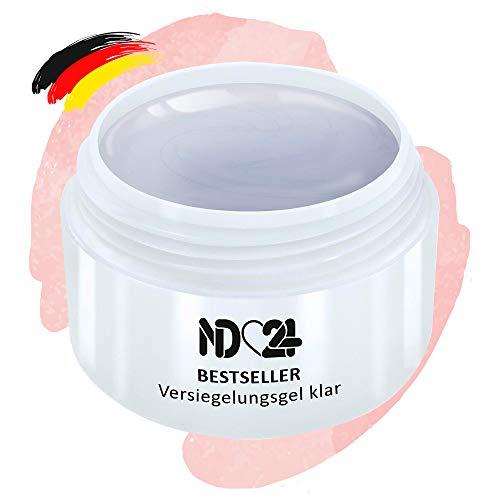 Finish Versiegler-Gel Mittelviskos High Gloss - Uv Nagelgel - Made in Germany - Säurearm (5ml)