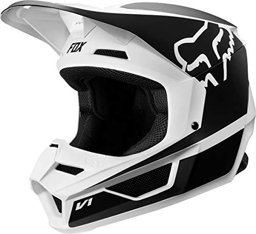 Fox Racing Youth V1 Przm Helmet (S) (Black/White)