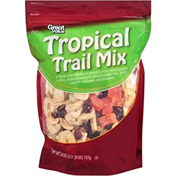 Great Value Tropical Trail Mix 1LB 10 Oz  Pack of 2