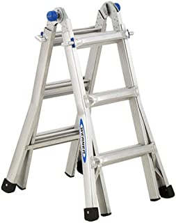 Werner MT-13 300-Pound Duty Rating Telescoping Multi-Ladder, 13-Foot