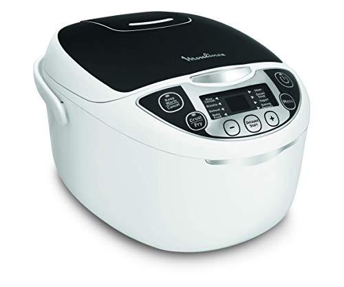 Moulinex MK708820 - Robot de cocina multifunción con 5 l de capacidad, 750W de potencia y 12 programas de cocción. Apt