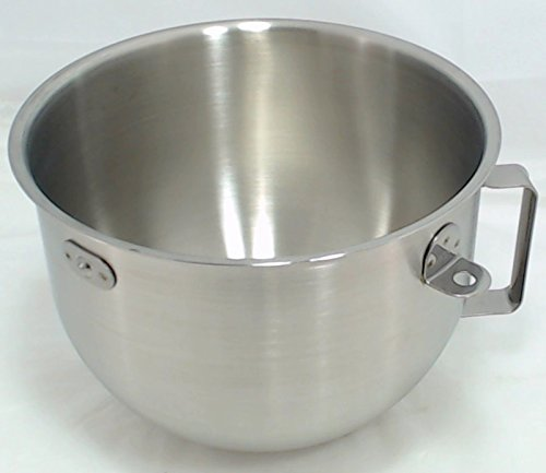 KitchenAid 5-Quart Stainless-Steel Commercial Mixing Bowl with Handle