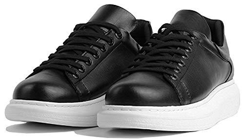 Chekich CH257 - Zapatillas de deporte para hombre, ligeras, para el tiempo libre, color Negro, talla 42 EU
