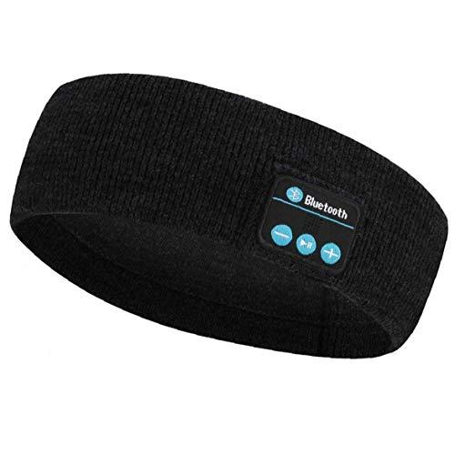 sevenjuly Música inalámbrica Bluetooth Auriculares con Banda de Punto de Dormir Headwear Altavoz de los Deportes de Auriculares para el Yoga de Entrenamiento para Correr, Equipo al Aire Libre