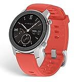 Amazfit GTR 42 Smart Watch con frecuencia cardíaca durante todo el día y seguimiento de la actividad Reloj inteligente duración de la batería ultra larga-Rosa
