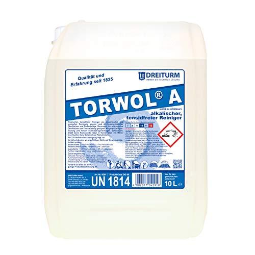 Dreiturm Torwol A alkalischer & tensidfreier Reiniger 10 L Marmorreiniger Feinsteinzeugreiniger