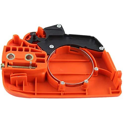 Kettingrem, koppelingdeksel de kettingrem geschikt voor kettingzaag onderdelen voor Husqvarna 350 235 236 240 235E kettingzaag,Orange