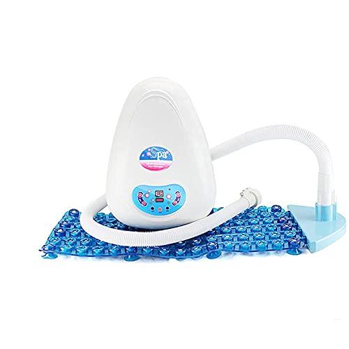 Joyfitness Multifunctionele bubbelbadmat, luchtbellenbad, IPX4 waterdichte afstandsbediening, luchtbel, badkuip, badkuip, massagemat met luchtslang om thuis te ontspannen