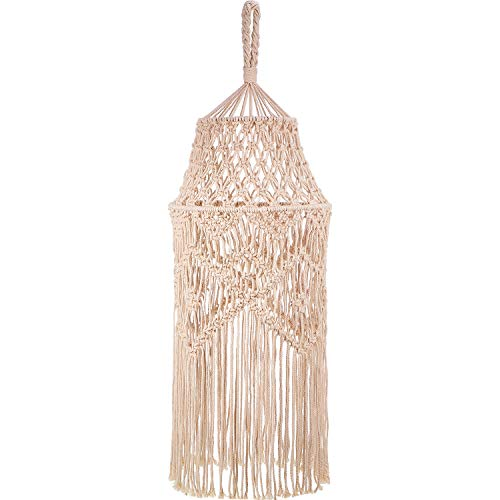 Knitting Lamp Shade Ceiling Light Shade Fitting, Boho...