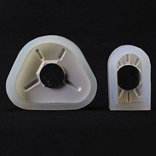 Vroegse 2 stks Dental Lab Magnetische Siliconen Pleister Model Voormalig Basisvormen