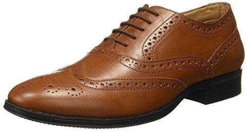 BATA Men's Sparrow Brown Formal Shoes
