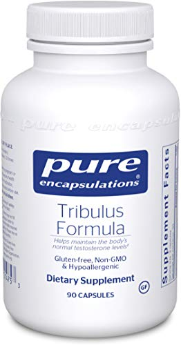 Pure Encapsulations - Tribulus Formula - Hypoallergenic Supplement to Support Normal Testosterone Levels - 90 Capsules