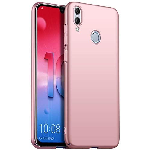Aidinar Funda Xiaomi Mi Mix 3, Frosted Ultra Thin PC Hard Back Cover Bumper para Xiaomi Mi Mix 3 - Oro Rosa