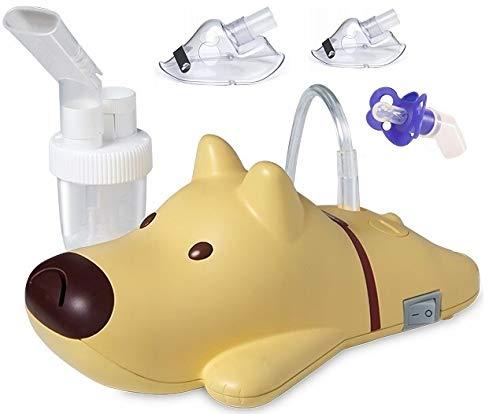 Rossmaxx NI60 Kinder Inhalator zur Verneblung von flüssigen Medikamenten, für eine effektive Inhalation bei Kindern