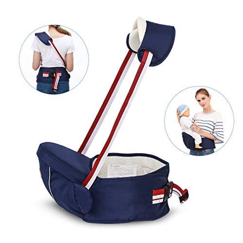STEO Marsupio Neonati Ergonomico Zainetto Porta Bebè con Sedile Comodo per Bambini da 0 a 3 Anni (3,5 kg-20 kg)
