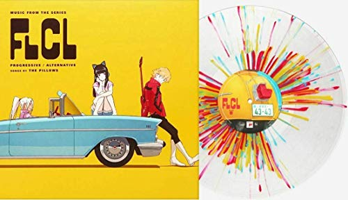 FLCL Progressive / Alternative (Music From The Series) - Exclusive Limited Edition Pirate King Splatter Colored 2x Vinyl LP (Only 1000 Copies Pressed Worldwide!)