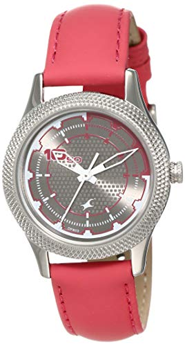 Fastrack Analog Grey Dial Women's Watch NM6158SL02 / NL6158SL02