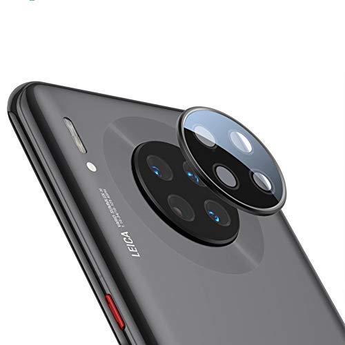 xinyunew Geeignet für Huawei Mate 30 pro Kamera Panzerglas Schutzfolie 2 PCS Objektiv Folie Len Protector Kamera Schutzglas Rückseite Camera Glasfolie 9H Festigkeit Zubehör Wasserdicht - Schwarz