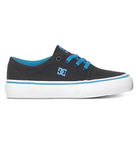 DC DC - Jungen Trase Tx Lowtop Schuhe, EUR: 28.5, Black/Turquoise