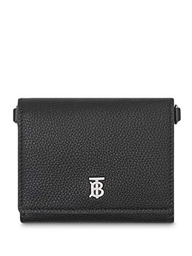 Luxury Fashion   Burberry Heren 8025520 Zwart Leer Portemonnees   Lente-zomer 20