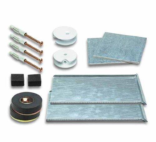 Spiegelbefestigung Magnetset SafemaX® 16 für Spiegel bis 1.6 m² bei 6 mm Dicke