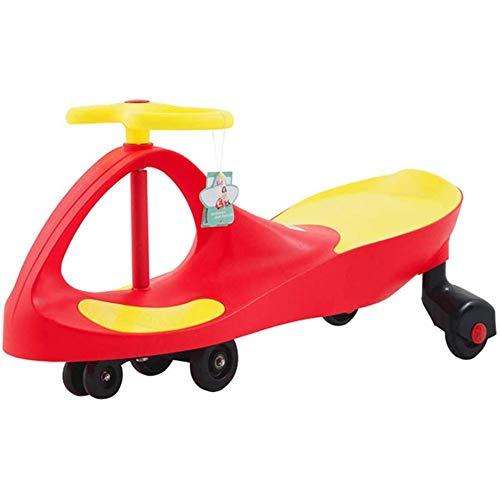 SONGTAO Balance Bike Baby Children's Twist Car Swing Car Upgrade Slide Slide Baby Yo Car Baby Walker Anti-rollover Leisure Car,Red