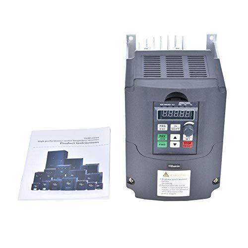 IGOSAIT Frecuencia Velocidad de controlador, bomba de agua solar estable inversor de CC a CA de frecuencia generador fotovoltaico Converter con doble capa de placa de circuito impreso (0.75KW)