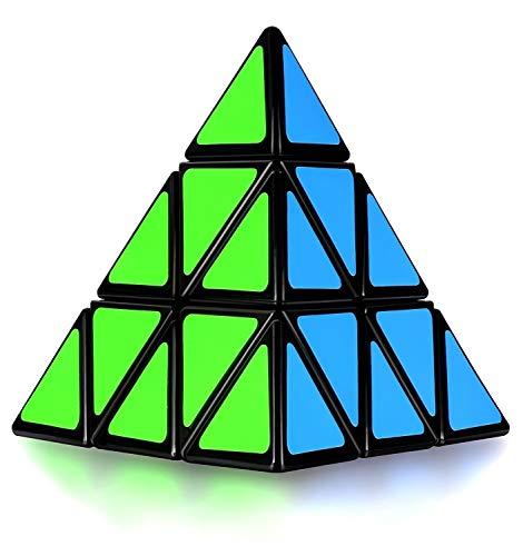 MASCARELLO Zauberwürfel Set 2x2 3x3 4x4 5x5 Pyramiden Speed Cube von 2x2x2 3x3x3 4x4x4 5x5x5 Cube Magischer Würfel Smooth Zauberwürfeln Anti Stress Spielzeug für Kinder Erwachsene Anfänger Lebendigen