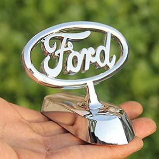 bearfire 3D Emblem Car Logo Front Hood Ornament Car Cover Chrome Eagle Badge (Ford)