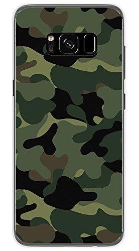 Tumundosmartphone Funda Gel TPU para Samsung Galaxy S8 diseño Camuflaje Dibujos