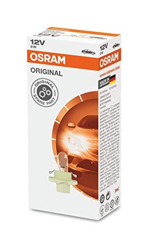 OSRAM 2452MFX6 Lámpara para Montaje en Placa de Circuito Impreso, 12V, 1.5W