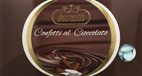 Buratti Confetti Cioccolato, Azzurro, 1 kg,