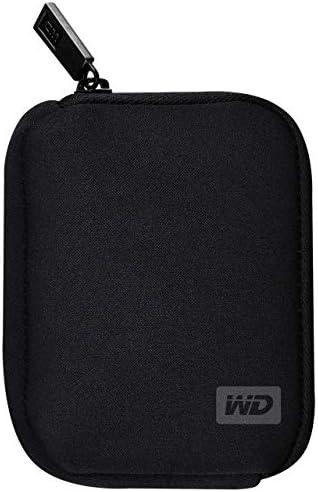 Western Digital WDBABK0000NBK WRSN Soft Side Portable Hard Drive Case product image