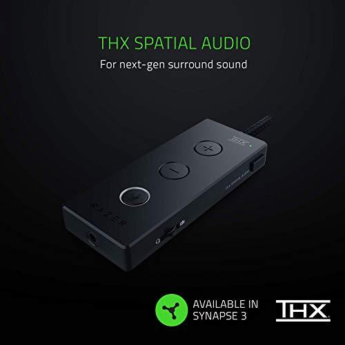 Razer Kraken Tournament Edition - Esports Gaming Headset (Kabelgebundenes Gaming Headphones mit USB-Audio-Controller, THX Spatial Audio, 50-mm-Treiber, Plattformübergreifende Kompatibilität) Schwarz