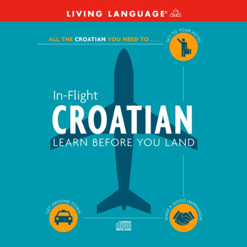 In-Flight Croatian audiobook cover art
