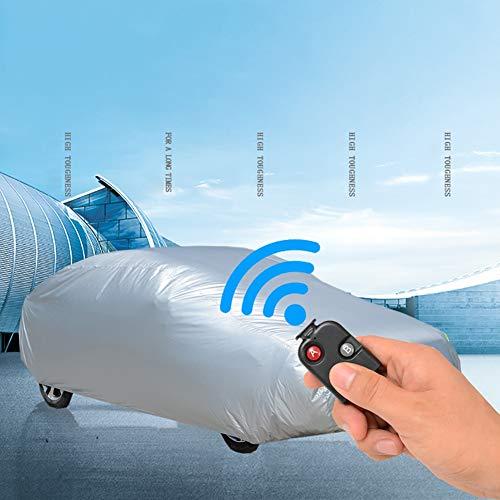 SUAIBEI Autohoes, automatisch intelligent, zonwering, regen/krasbestendig, afstandsbediening, geschikt voor 4 seizoenen