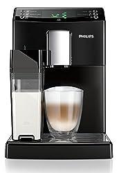 Philips 3100 Serie HD8834/01 (1,8 Liter, Kaffeevollautomat, integrierte Milchkaraffe) schwarz