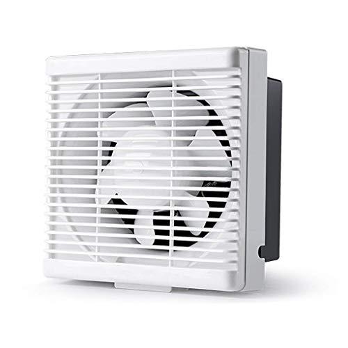 Extractor De Baño, Extractor de baño, ventilador, extractor de cocina, ventilador, ventana de pared, baño/de cocina, ventilación, ventilador, silencioso y eficiente (Tamaño: 8 pulgadas)