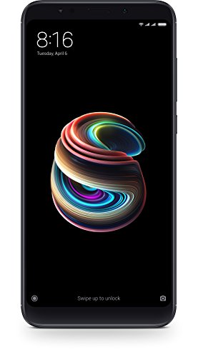 "Xiaomi Redmi 5 Plus - Smartphone de 5.99"" Full HD (14 NM Snapdragon Octa-Core, 64 GB, Android) Color Negro [versión española]"