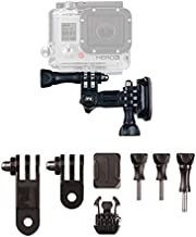 Action Mount Helmet Mounts (Flat & Curved) with 3-Way Pivots for Popular Sports Camera, or Other Action Mount Products. Flat & Curved Mounts with 3m Adhesive, Base Clip, 3-Way Pivots, & Thumb Screw.