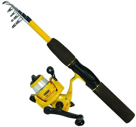 Eagle Claw Pack-It Telescopic Fishing Rod