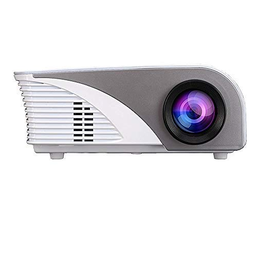 """Video Projector,Dinlly (Upgraded)1500 Lumens Projector with 170"""" Screen Home Cinema Theater Full HD Projector 1080P USB/SD/AV/TV/HDMI DVD for Home Cinema TV Laptop Game iPhone Smartphone"""