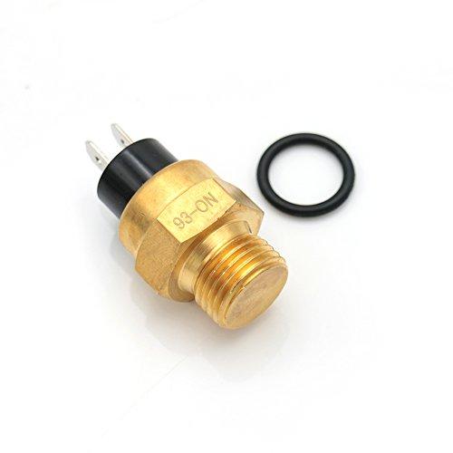 Sensor termo de ventilador de refrigeración para radiador de motocicleta Benelli, 125 cc, 250 cc, líquido refrigerado para scooters ATV Go-Karts