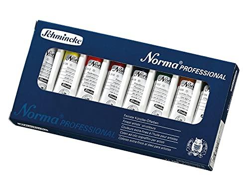 Oilcolours Schmincke Professional Norma Paintbox 8x35ml