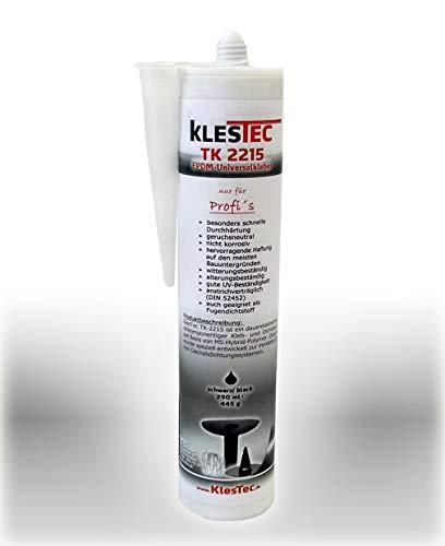 1 Kartusche, TK-2215 EPDM-Universalkleber Spezialkleber Dachfolie Folie Abdichtung (1 Kartusche 290 ml)