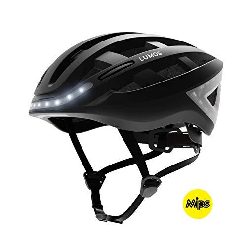 Lumos Kickstart Fahrradhelm, Charcoal Black, One Size