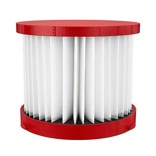 XIAOFANG Hepa Filtre à Milwaukee 49-90-1900 Sec/Humide 0780-20/0880-20 Pièces Aspirateur (Color : Red)
