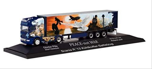 Scania R '13 TL - Coprisella per borsa frigo'Pille/Peace not War'