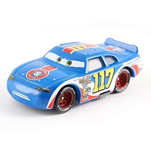 Children's car Gift, Metal Paint Gold Chrome McQueen Metal die-cast Toy car Lightning McQueen (22)