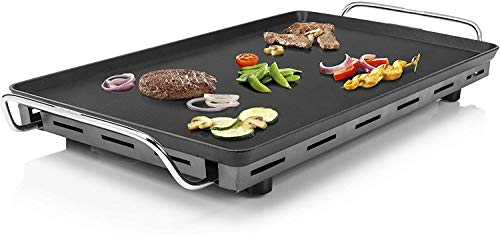 102325 Table Chef XXL, superficie de 60x36 cm, plancha Extragruesa de 4 mm de grosor, 2500 W [Clase de eficiencia energética A]